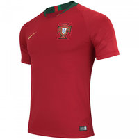 2018 Portugal Soccer Jersey Nike (Front)