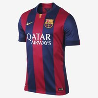 2014/2015 Barcelona Soccer Jersey Nike (Front)