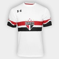 2016 São Paulo Soccer Jersey Under Armour (Front)