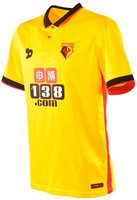 2016/2017 Watford Soccer Jersey Dryworld (Front)