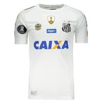 2017 Santos Soccer Jersey Kappa (Front)